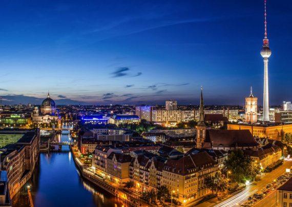 غروب زیبای آفتاب در برلین+عکس