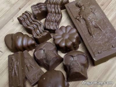 دستور تهیه شکلات مغزدار