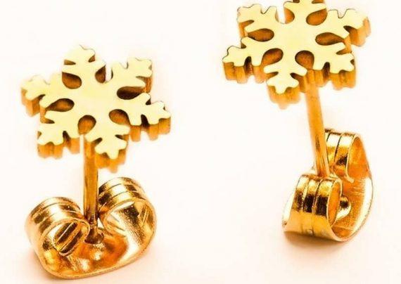 مدل گوشواره طلا بچه گانه به روز