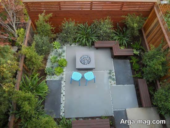 طراحی متفاوت فضای سبز