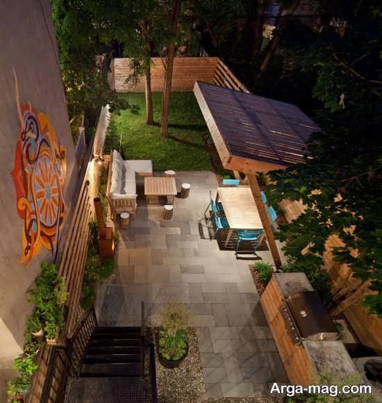 طراحی جالب محیط بیرونی منزل