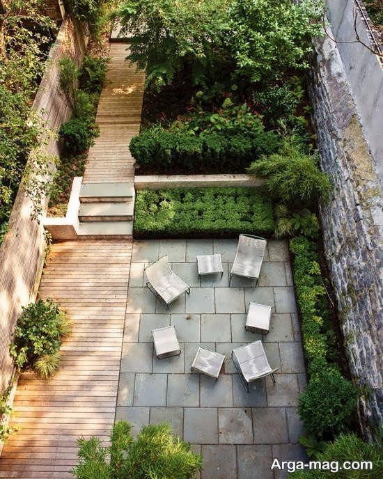 طراحی ایده آل فضای سبز حیاط