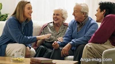 زندگی خوب با خانواده همسر
