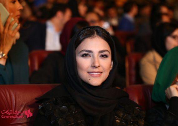 عکس های آخر سال هدی زین العابدین در سینما آزادی