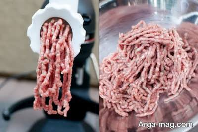 چرخ کردن گوشت