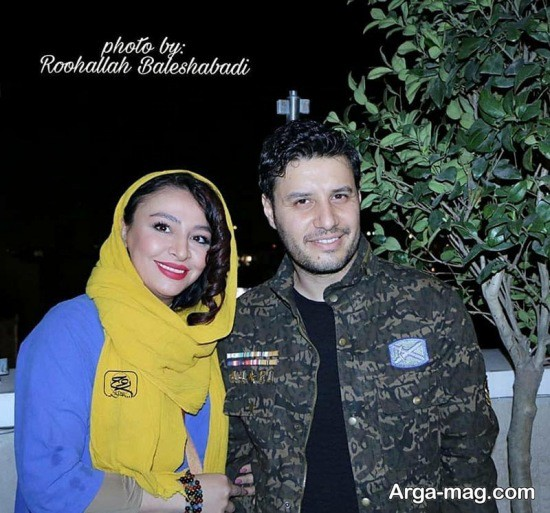 عکس های جواد عزتی به همراه همسرش