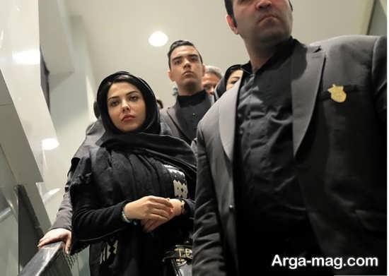 لیلا اوتادی بازیگر محبوب در افتتاحیه پردیس سینمایی گلشن