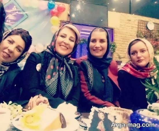 marjaneh 1 - جشن تولد مرجانه گلچین در جمع بازیگران