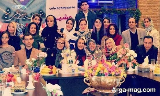 marjaneh 2 - جشن تولد مرجانه گلچین در جمع بازیگران