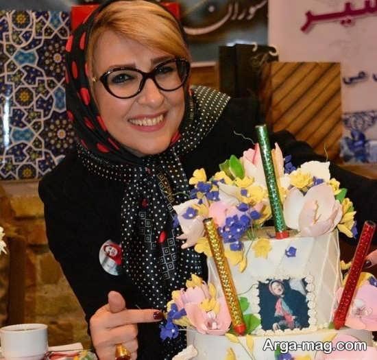 marjaneh 3 - جشن تولد مرجانه گلچین در جمع بازیگران