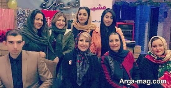 marjaneh 4 - جشن تولد مرجانه گلچین در جمع بازیگران