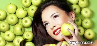آموزش طرز تهیه شش ماسک سیب مفید و موثر در سلامت و زیبایی پوست