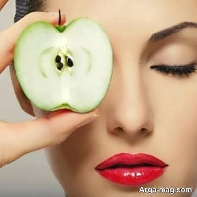 زیبایی و سلامت پوست با ماسک سیب