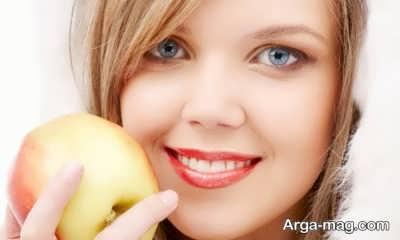 آشنایی با شش ماسک طبیعی با سیب