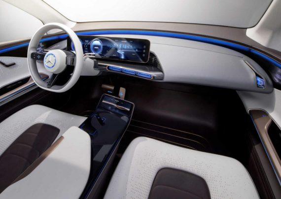 معرفی خودروی تمام الکتریکی مرسدس بنز EQC