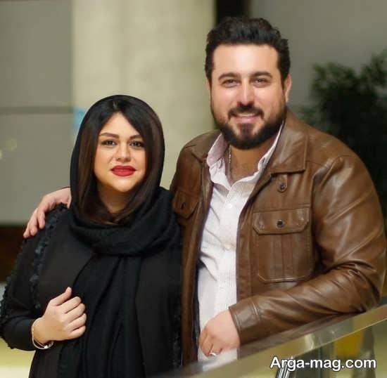 mohsen kiaee 1 - تصاویری از محسن کیایی و همسرش در مراسم اکران خصوصی فیلم لونه زنبور