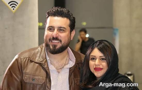 mohsen kiaee 2 - تصاویری از محسن کیایی و همسرش در مراسم اکران خصوصی فیلم لونه زنبور