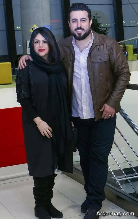 mohsen kiaee 3 - تصاویری از محسن کیایی و همسرش در مراسم اکران خصوصی فیلم لونه زنبور