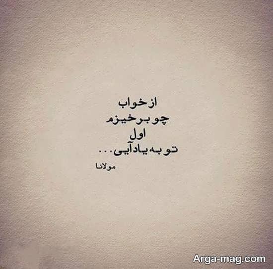 بیت برگزیده اشعار مولانا