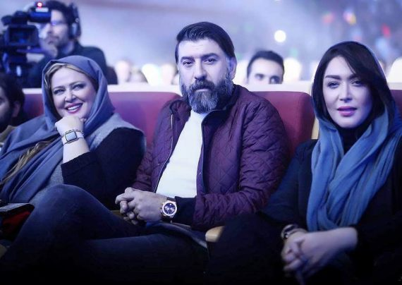 سارا منجزی در جشن پردیس سینمایی گلشن
