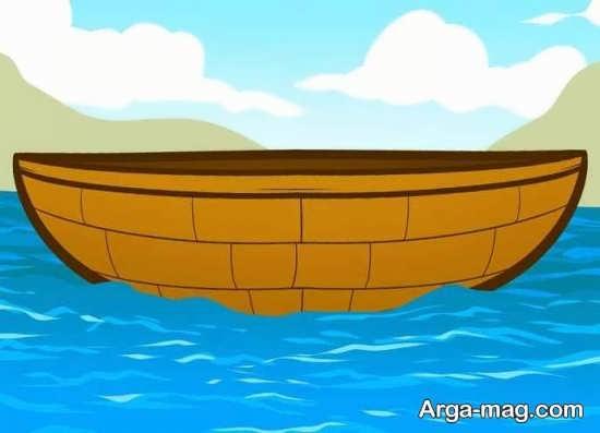 رنگ آمیزی قایق