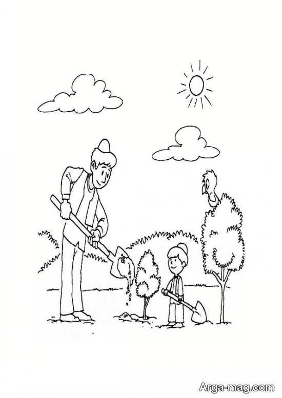 طراحی کودکانه هوای پاک