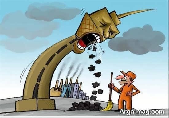 کاریکاتور هوای پاک