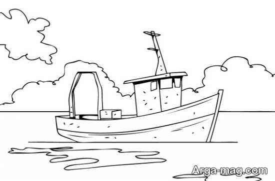 کشیدن کشتی بزرگ