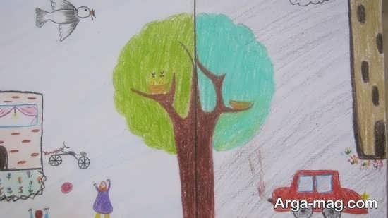 نقاشی مخصوص هوای پاک