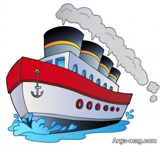 روش نقاشی کردن قایق برای کودک