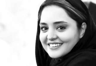 تک عکس هنری نرگس محمدی در طبیعت