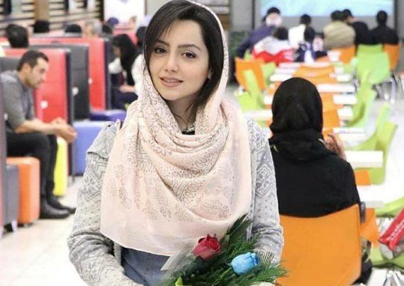 عکس های لاکچری نازنین بیاتی در سینما جوان تهران
