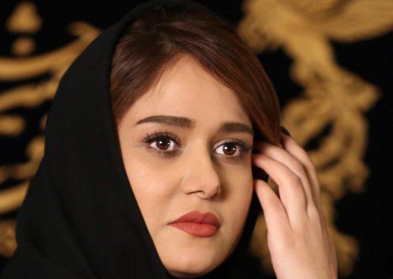 سلفی شیرین دیوان سالار و صابر عبدلی در فیلم شهرزاد