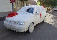 ماشین عروس پراید