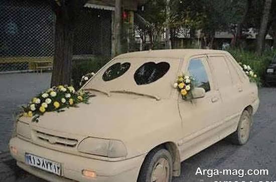 رنگ آمیزی ماشین عروس