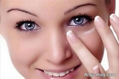 برطرف کردن کبودی های زیر چشم در منزل