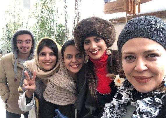تیکه بهاره رهنما به رامبد جوان و مهران مدیری