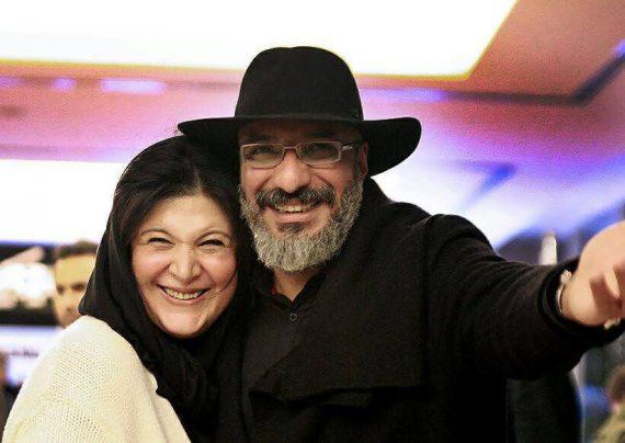 تبریک تولد امیری جعفری به همسرش
