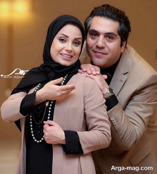 صبا راد و مانی رهنما در هتل پارسیان آزادی