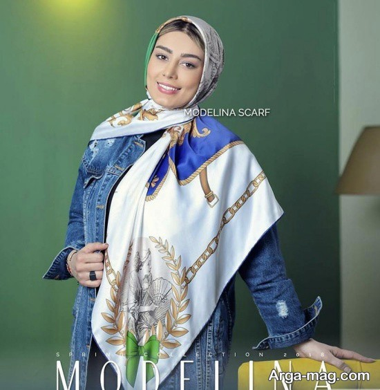 sahar ghoreyshi 1 - مدل های متفاوت بستن روسری سحر قریشی