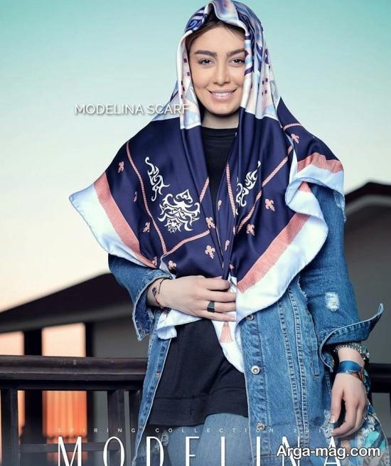 sahar ghoreyshi 2 - مدل های متفاوت بستن روسری سحر قریشی