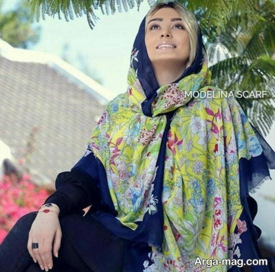 sahar ghoreyshi 7 - مدل های متفاوت بستن روسری سحر قریشی