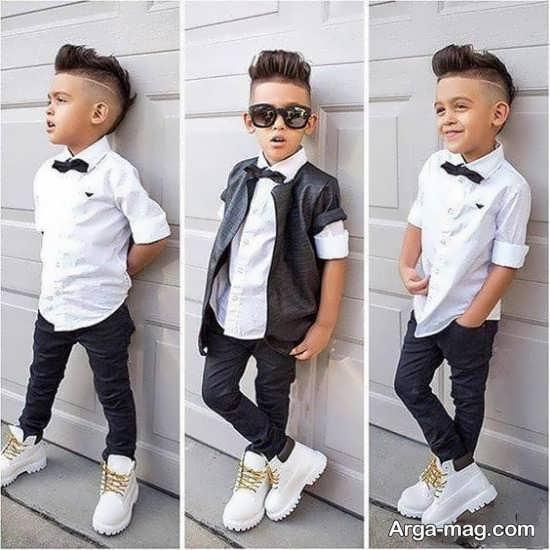 مدل شلوار بچه گانه پسرانه با طرح های فانتزی شیک و زیبا