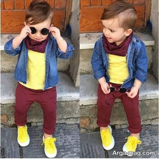 shalvar 4 1 - مدل شلوار بچه گانه پسرانه با طرح های فانتزی شیک و زیبا