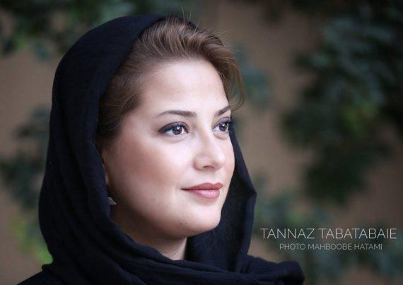 عکس های جدید طناز طباطبایی در آخرین روز جشنواره فیلم یزد