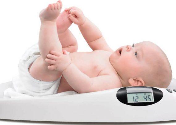 وزن نوزاد دو ماهه