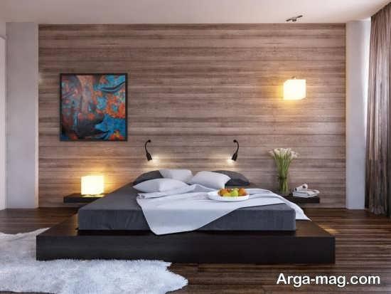 طراحی لاکچری تخت خواب دو نفره