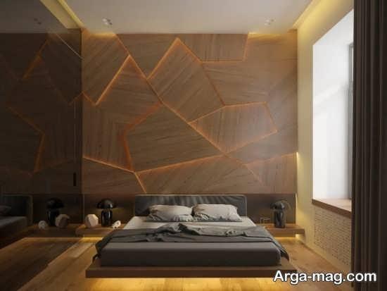 طراحی عالی تخت خواب چوبی