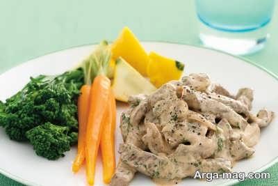 Beef stroganoff recipe 1 - طرز تهیه بیف استراگانف و چند فوت و فن مهم برای رسیدن به طعم اصلی