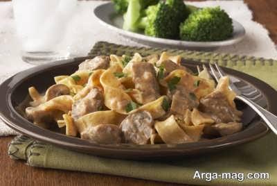 Beef stroganoff recipe 10 - طرز تهیه بیف استراگانف و چند فوت و فن مهم برای رسیدن به طعم اصلی